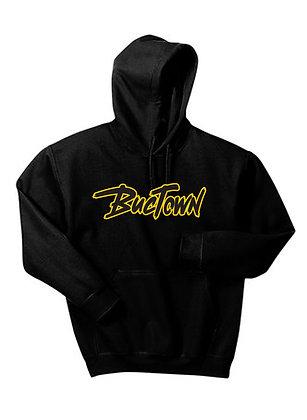 Hoodie | Buctown Retro (Black)