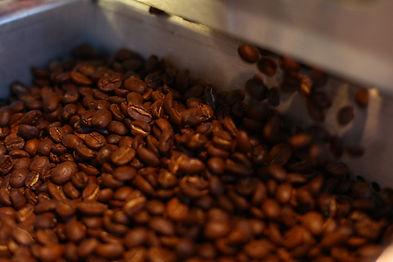 Frisch geröstet Kaffee