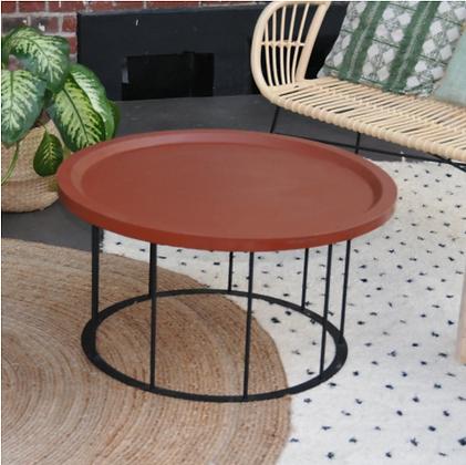 ALIX - table basse en briques recyclées