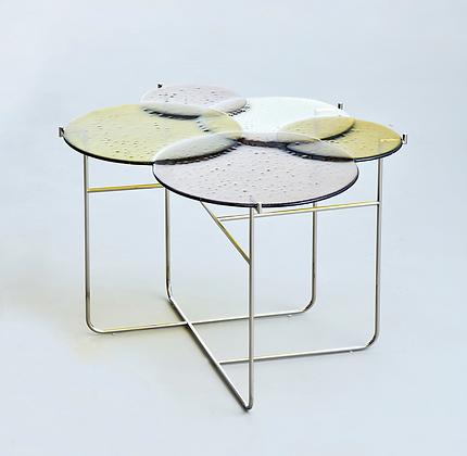 Pastille Side Table Green L