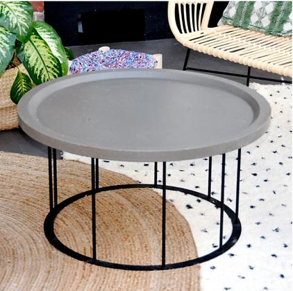 ALIX - table basse en marc de café recyclé