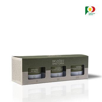Tisanes Romanes - Coffret 3 petites boîtes