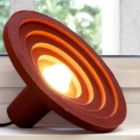 SCALAE  - Lampe en matières recyclées