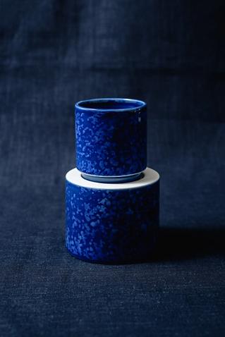 Tasses Colonnade Bleues - Lot de 2