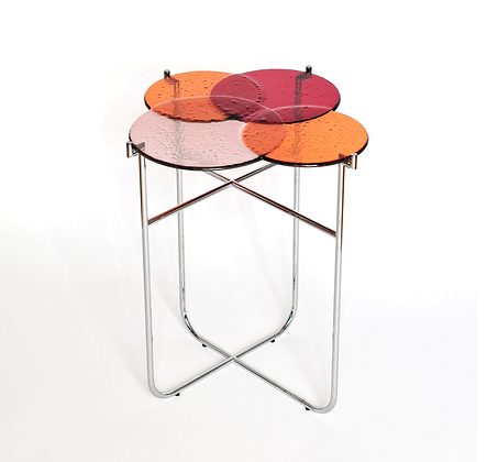 Pastille Side Table Red S