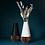 Thumbnail: Vase SUNA - noir mat et bois