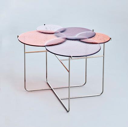 Pastille Side Table Red L