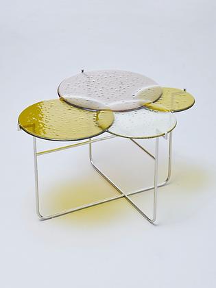 Pastille Side Table Green M