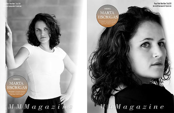 Mora Modeling Magazine weekend popup2020