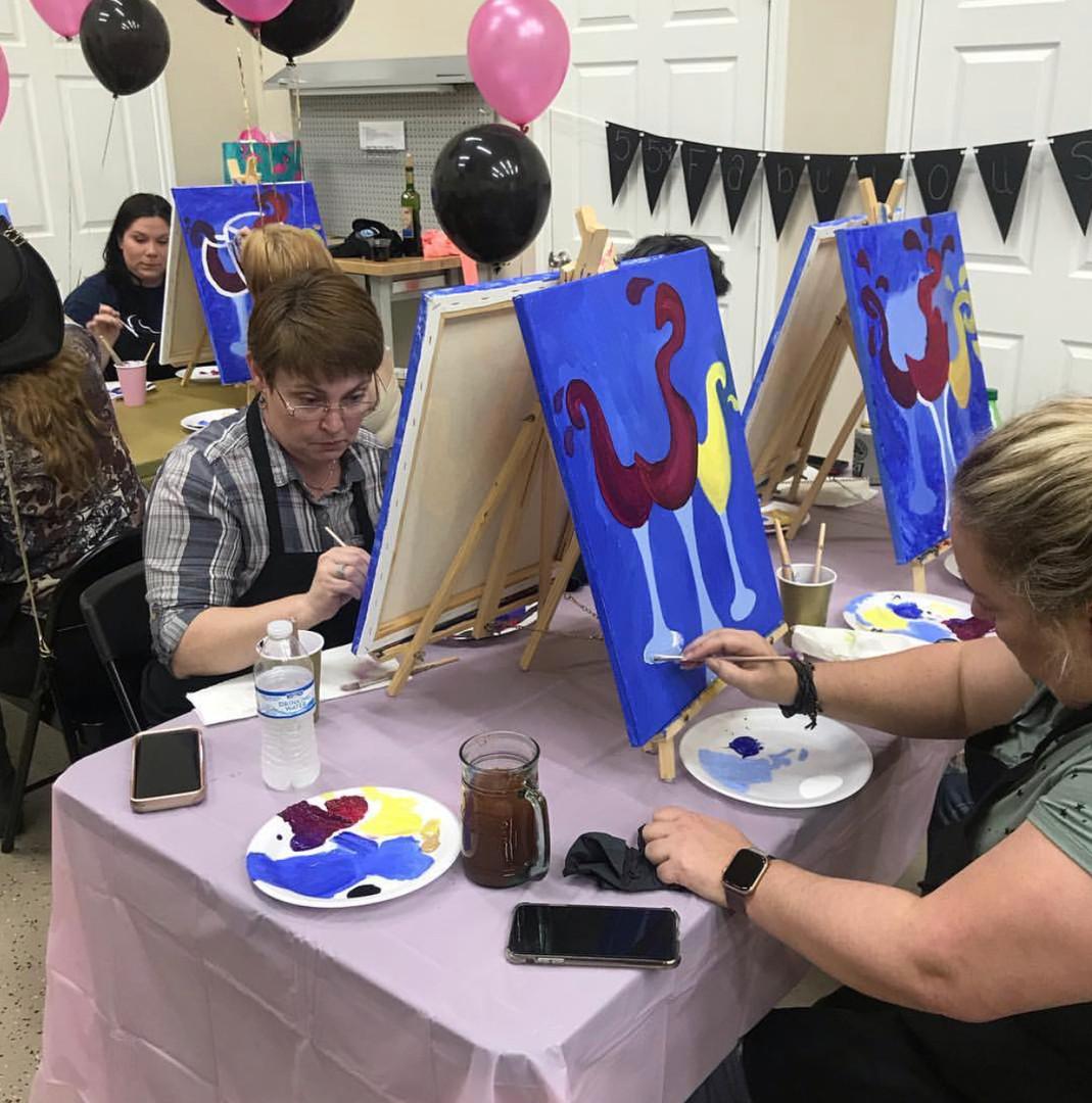 Ladies Painting