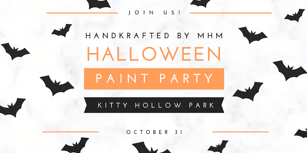 Spook-tacular Halloween Painting in the Park