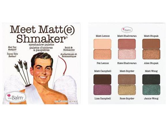 Meet Matt(e) Schmaker Eyeshadow Palette