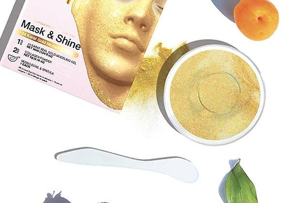 SF Glow - 24 Karat Gold Modeling Mask