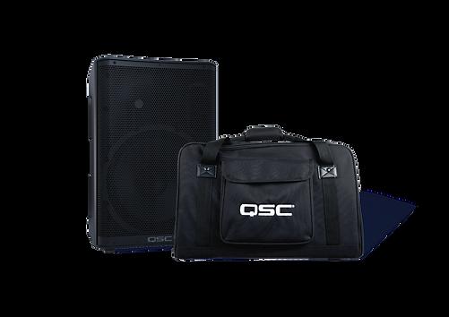 QSC CP19 mit Tragetasche