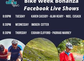 Bike Week Facebook Live Schedule