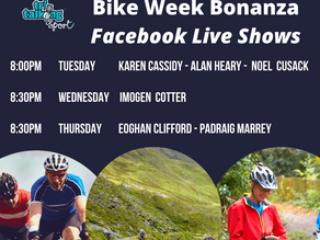 Bike Week Facebook Live Schedule
