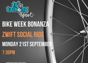 Tri Talking Sport ZWIFT Social Spin
