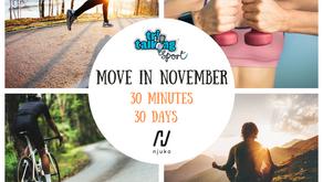 30 Minutes 30 Days November Challenge