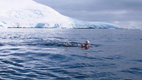 Cath Pendleton: Merthyr Mermaid Breaking The Ice