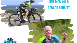 June McMinn and Gerard Turbitt: Triathletes, Growing Older Whilst Savouring Success in Sport.
