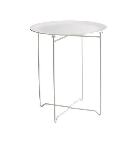 White XeverSide Table