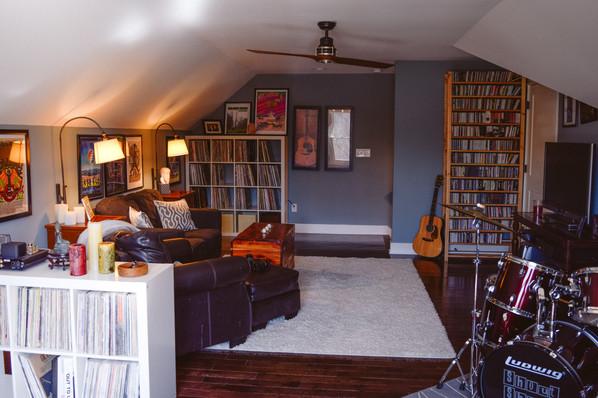 Loft Music Room
