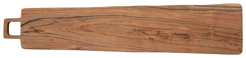 Rectangle Acacia Wood Cheese/Cutting Board with Square Handle