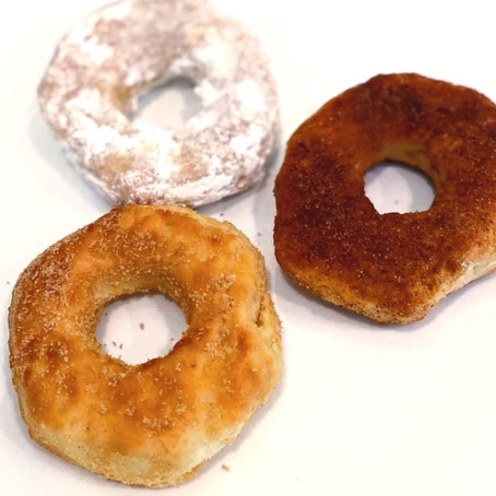 """""""Homemade Healthier"""" Donuts"""