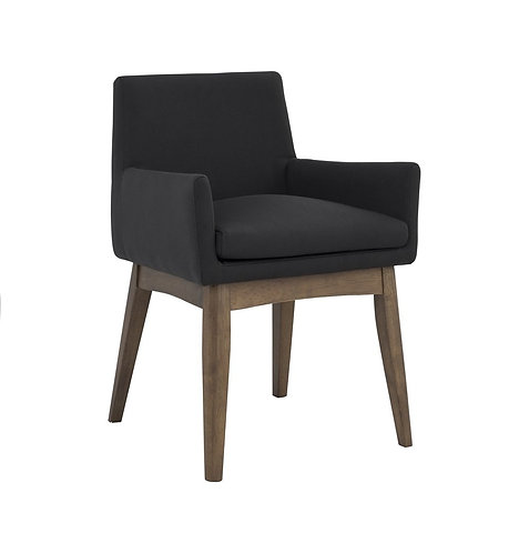 Chanel Dining Armchair - Lava & Cocoa
