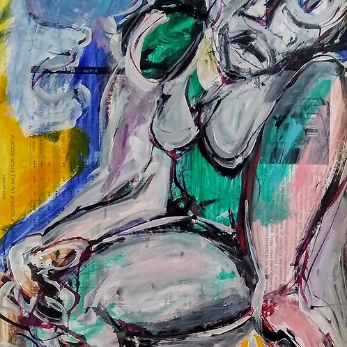 Sad Woman- by Craig Ogden