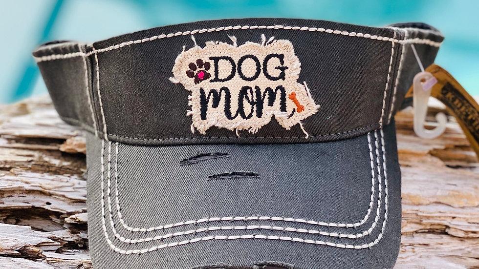 Vintage Dog Mom visor