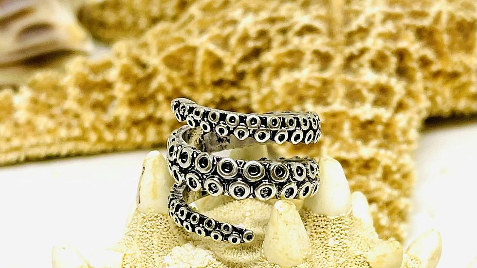 Octopus ring/ adjustable