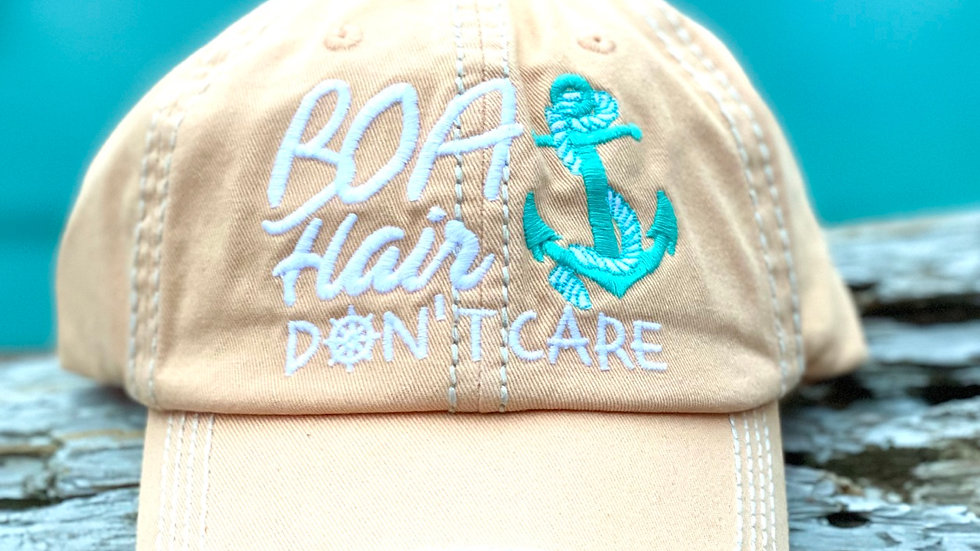 Boat Hair Don't care (vintage cap)