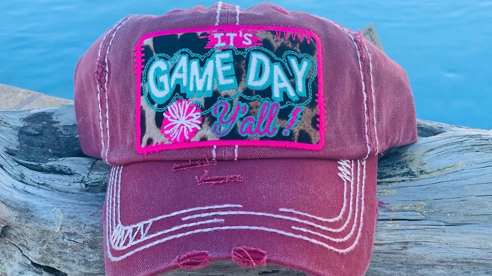 """It's Game Day Y'all"" Hat"
