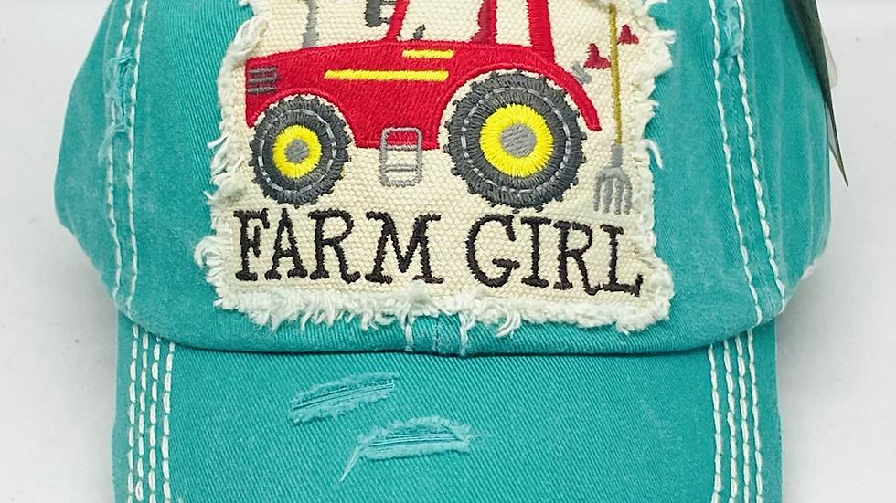 Farm Girl vintage cap