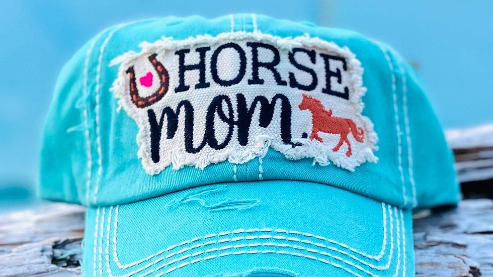 Horse Mom vintage cap