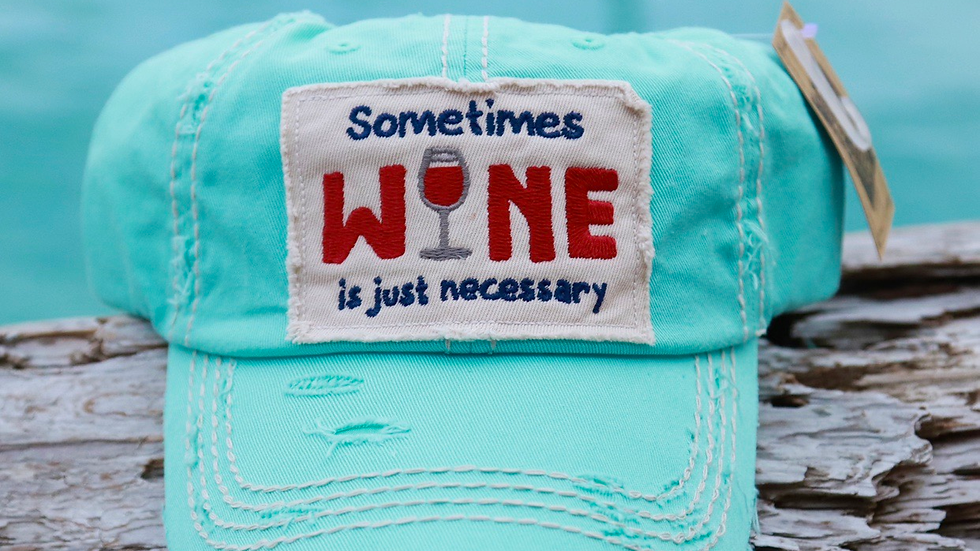 Sometimes Wine vinage cap