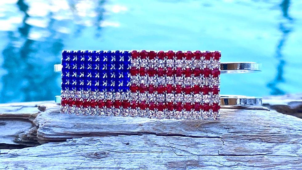 America flag bracelet