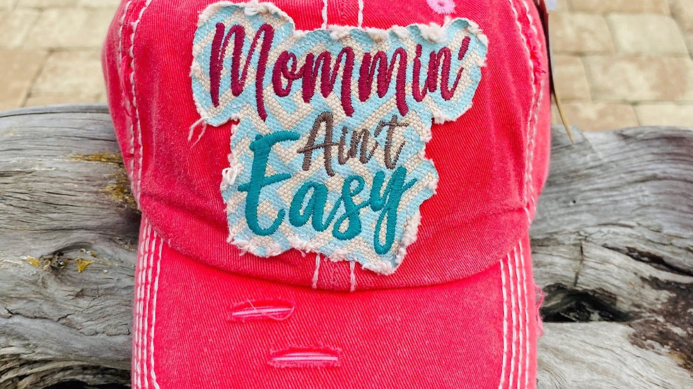 mommin' ain't easy hat