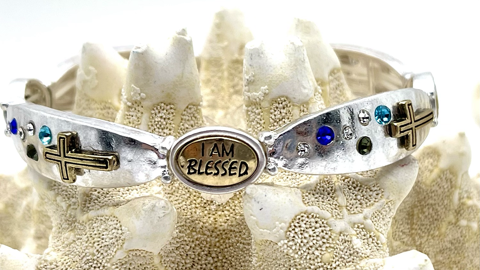 I'am blessed Stretchable bracelet