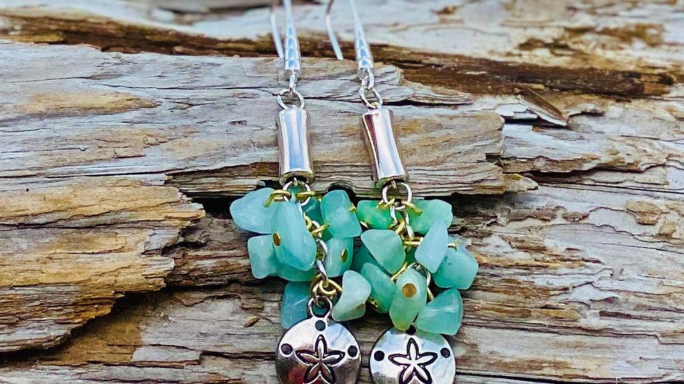 Starfish / Sand dollar earrings