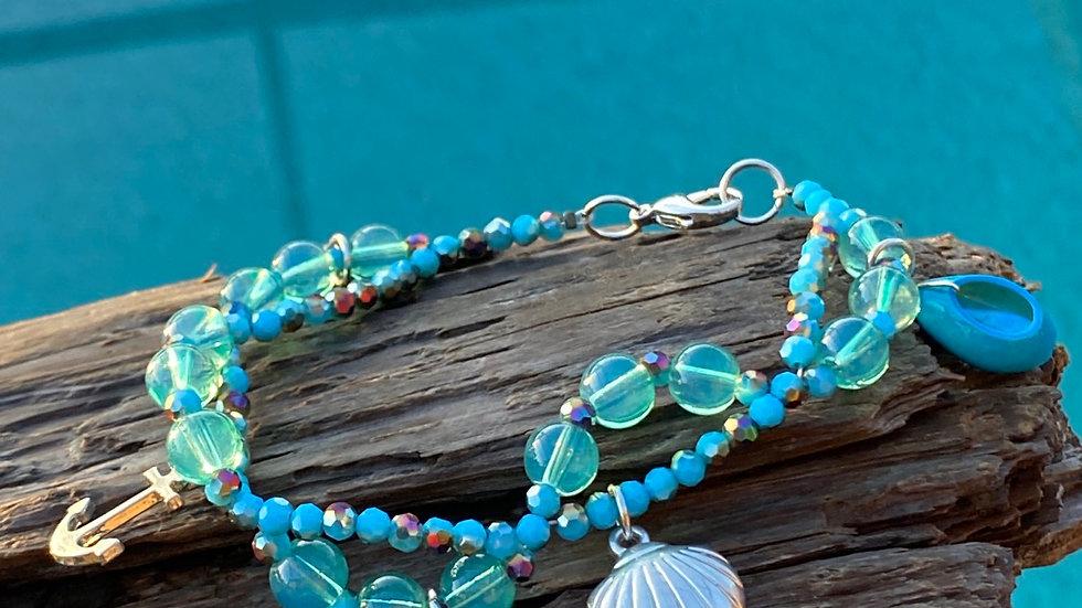 Double coastal bracelet