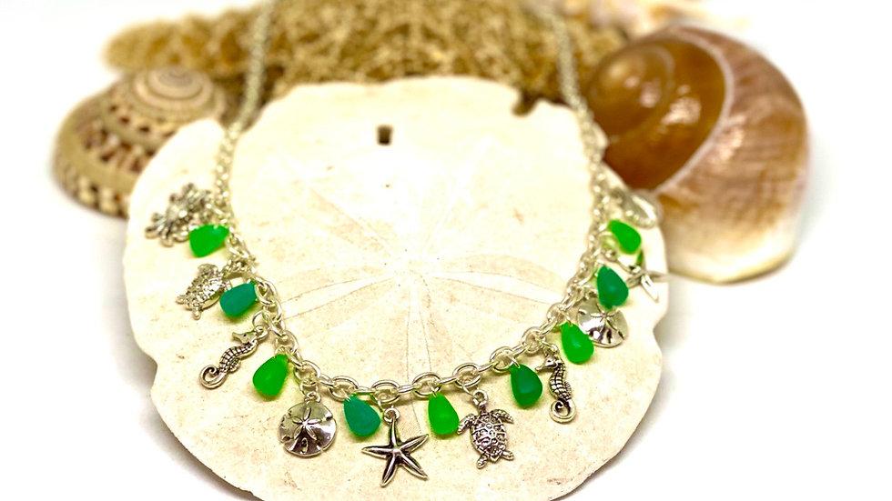 Coastal charm necklace