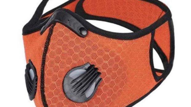Orange mask with filters (nice design )
