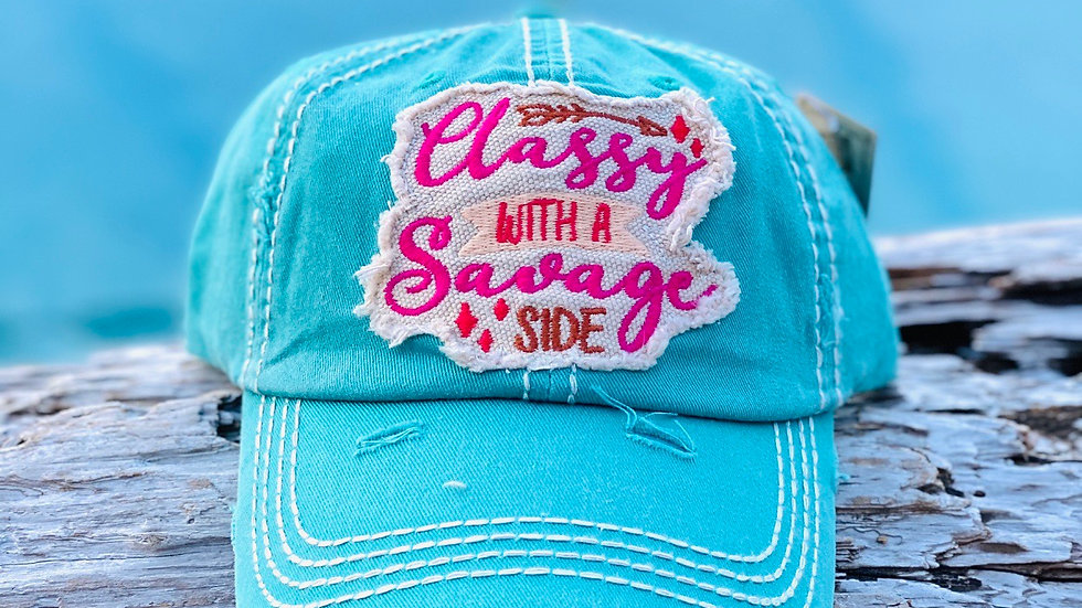 Classy with a savage side Vintage cap