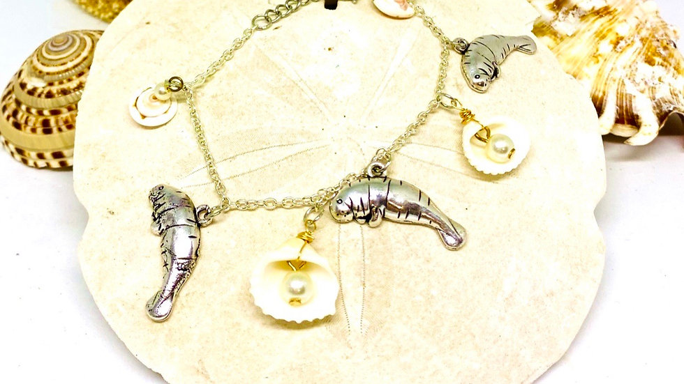 Manatee coastal bracelet