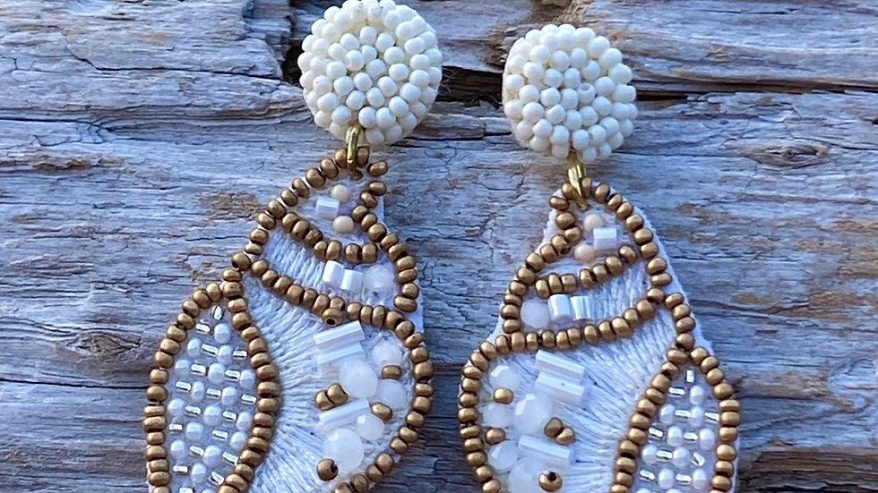 Shell Beaded earrings