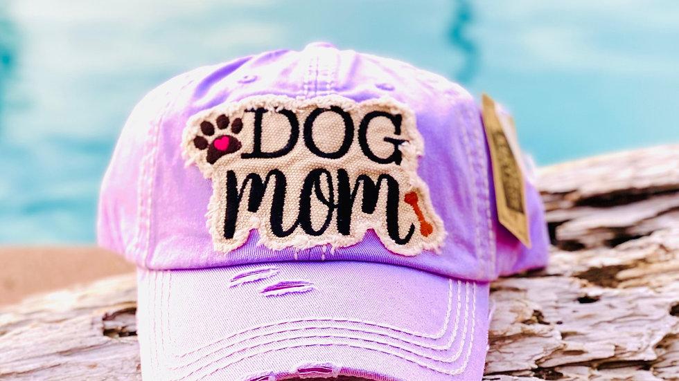 Dog Mom vintage cap
