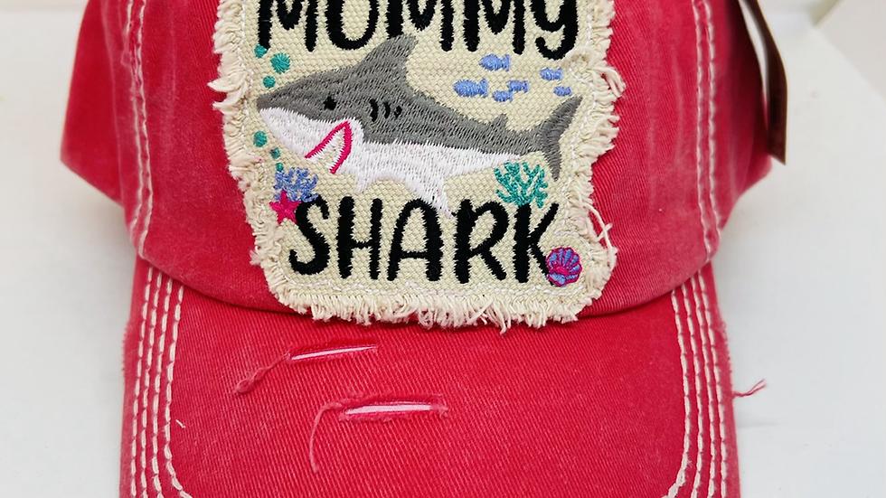 Vintage Mommy Shark