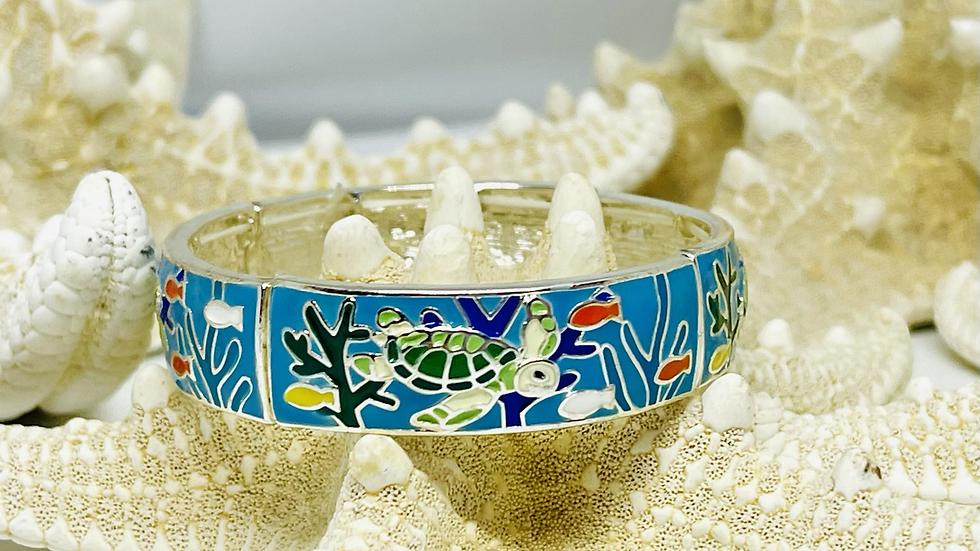 Gorgeous Turtle bracelet stretchable